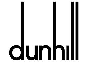 Dunhill Logo. Retail Sector. Clients of Influential Software.